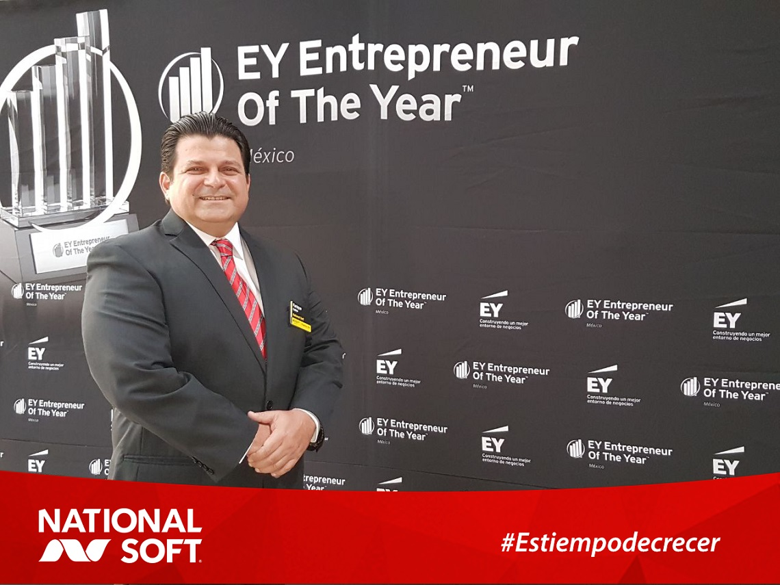 National Soft®, finalista del ranking del EY Entrepreneur Of The Year™ 2017 México.
