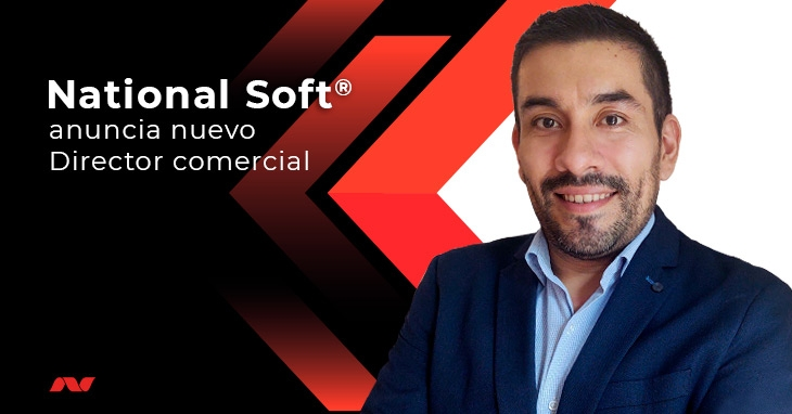 National Soft® anuncia nuevo Director comercial